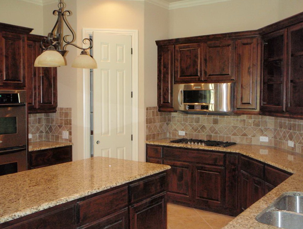 Knotty Alder Kitchen Cabinets Photos