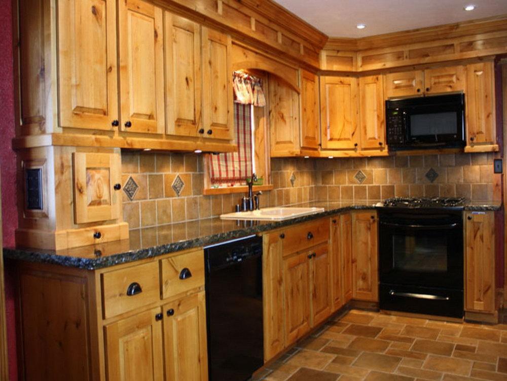 Knotty Alder Kitchen Cabinets Price