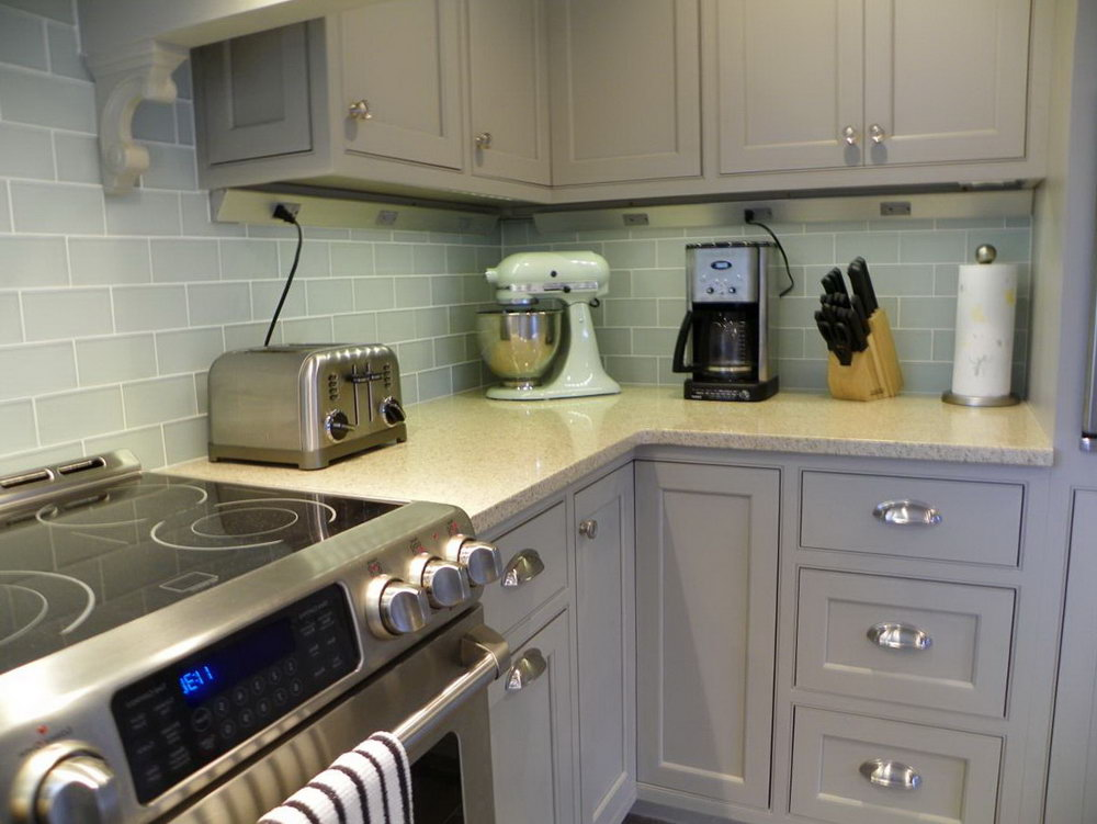 Light Grey Kitchen Cabinet