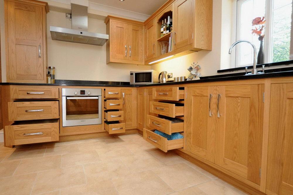 Light Oak Cabinet Kitchens