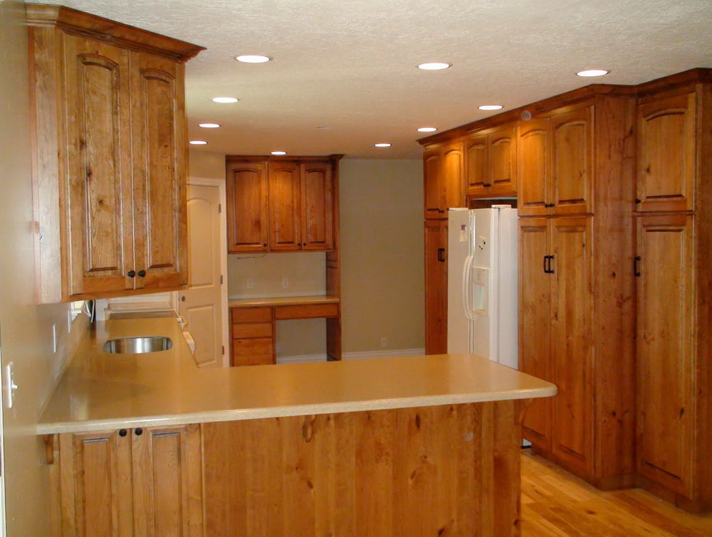 Light Oak Kitchen Cabinets Pictures