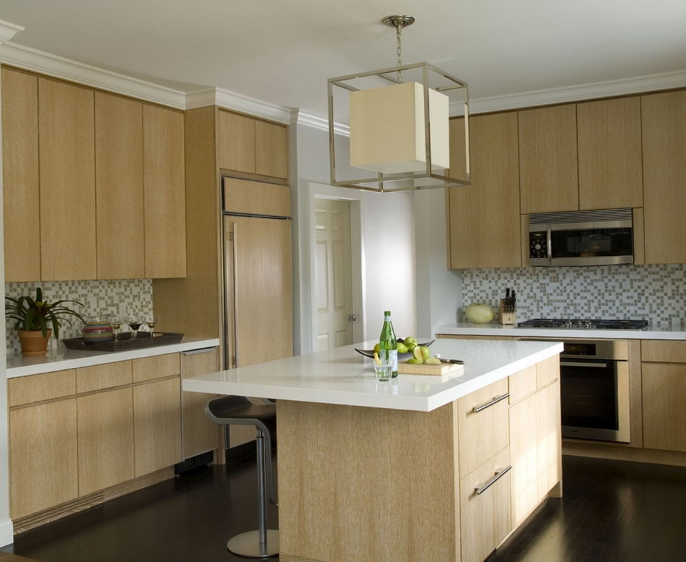 Light Wood Kitchen Cabinets Modern