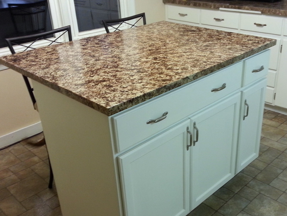Making Kitchen Island From Cabinets