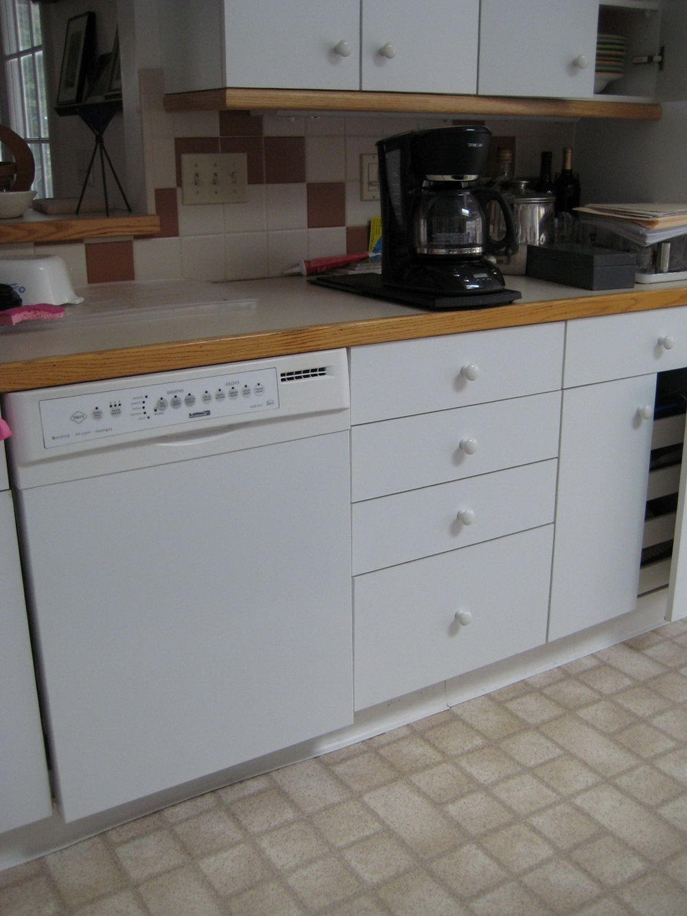 Melamine Kitchen Cabinets Design