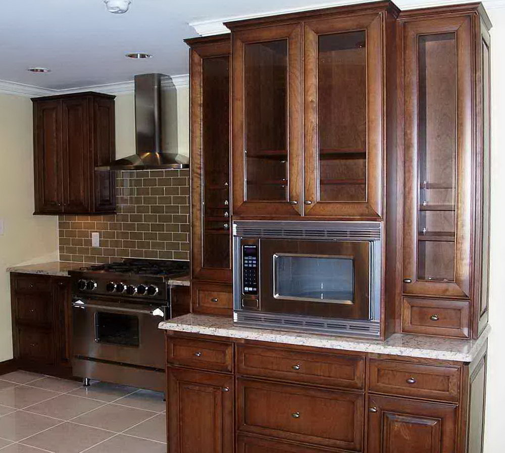 Microwave Kitchen Cabinet Ideas