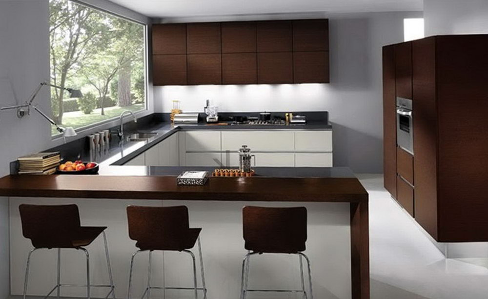 Modern Formica Kitchen Cabinets