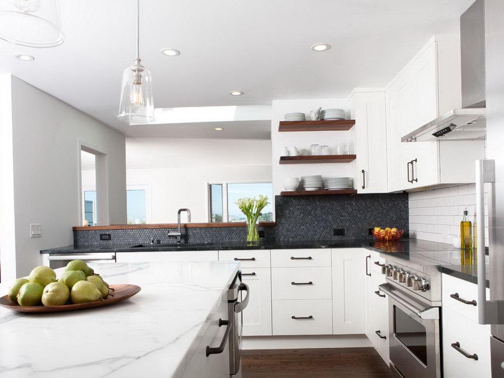 Modern Industrial Kitchen Cabinets