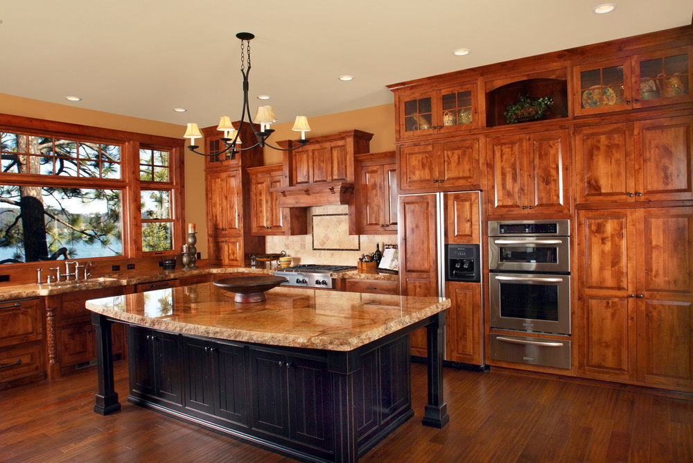 Natural Alder Kitchen Cabinets