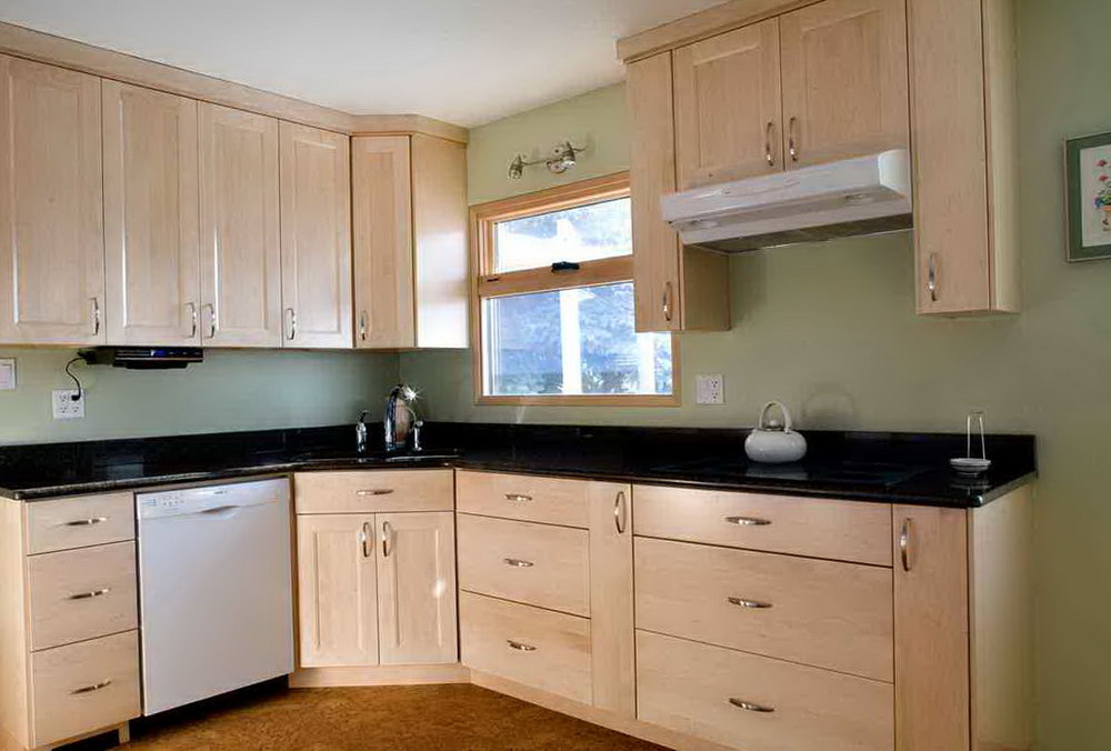 Natural Maple Kitchen Cabinets For Sale