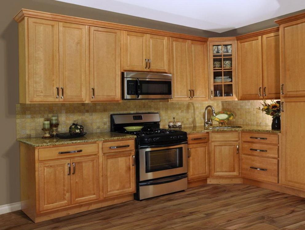 Oak Cabinet Kitchen Makeover