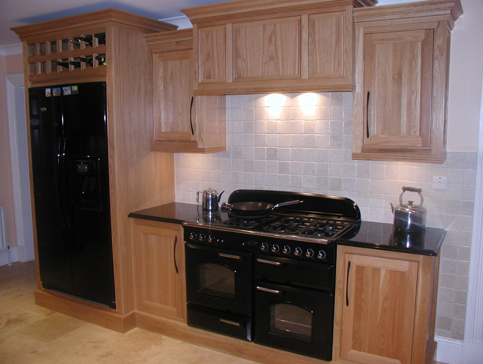 Oak Cabinet Kitchen Remodel