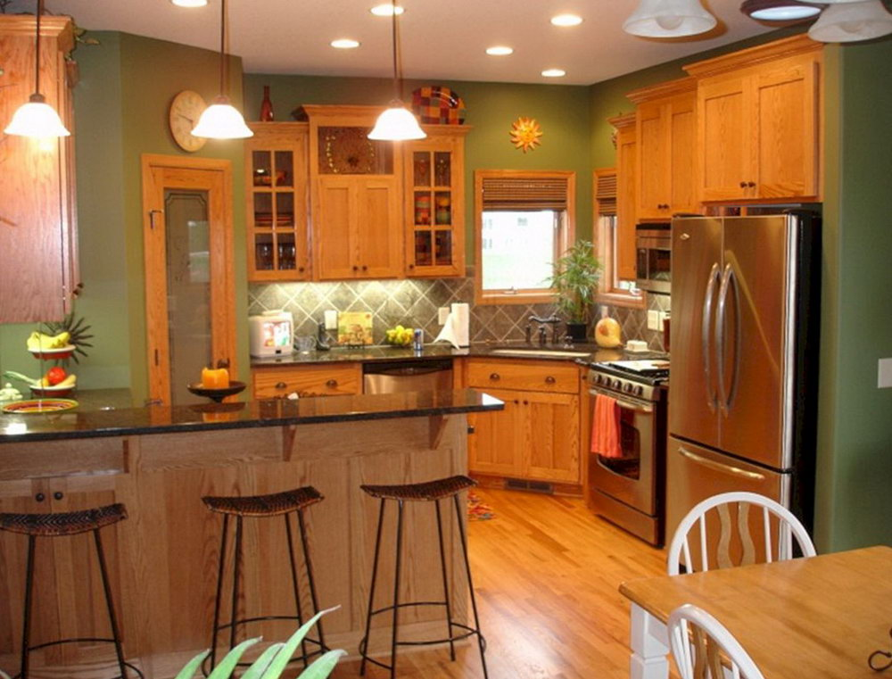 Oak Cabinets Kitchen Remodel