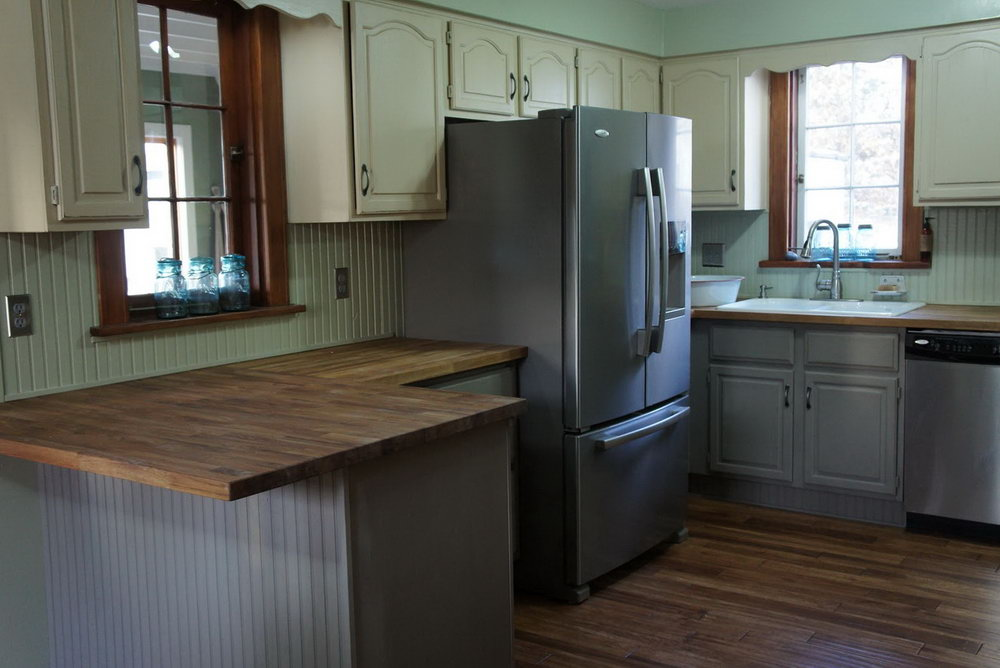 Pictures Of Grey Painted Kitchen Cabinets