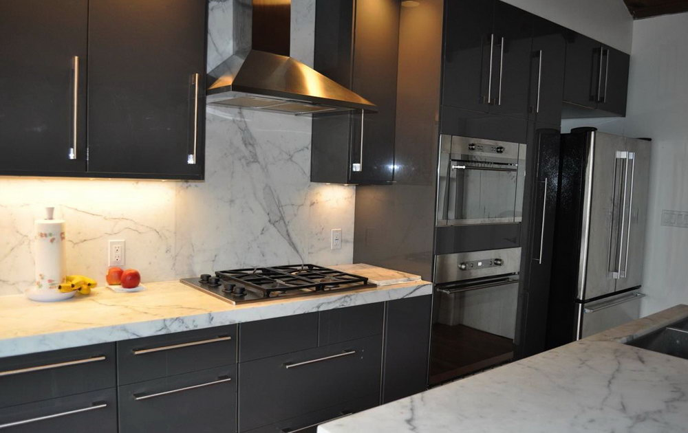 Pictures Of Kitchens With Gray Cabinets