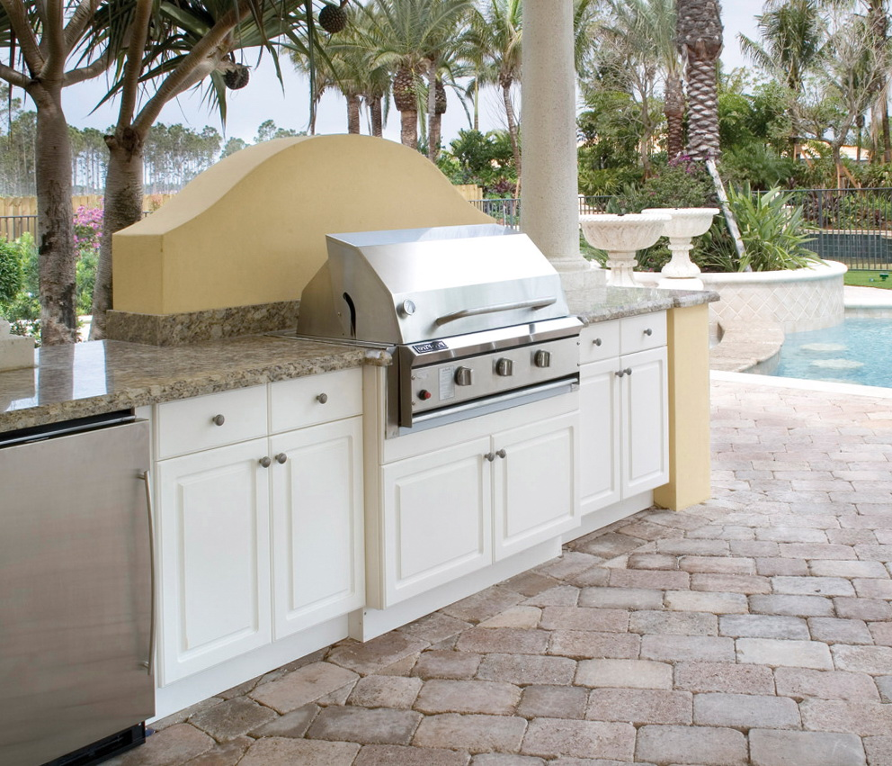 Plastic Outdoor Kitchen Cabinets