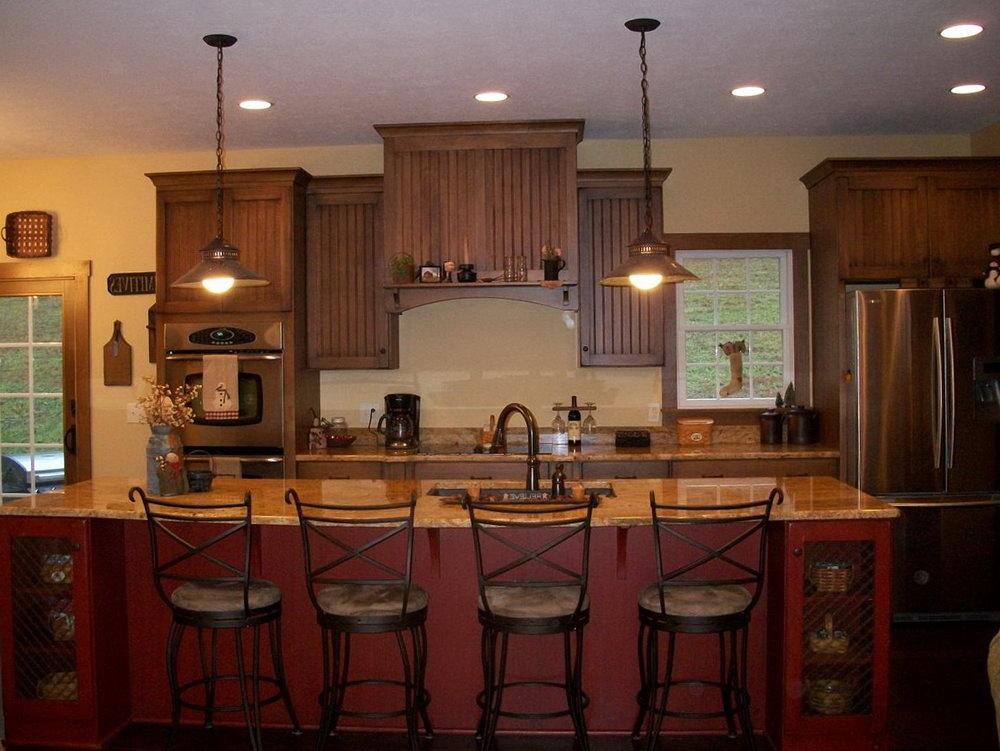 Primitive Kitchen Cabinets Ideas