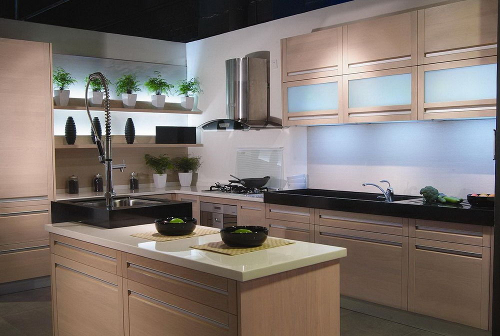 Real Wood Kitchen Cabinets Costco