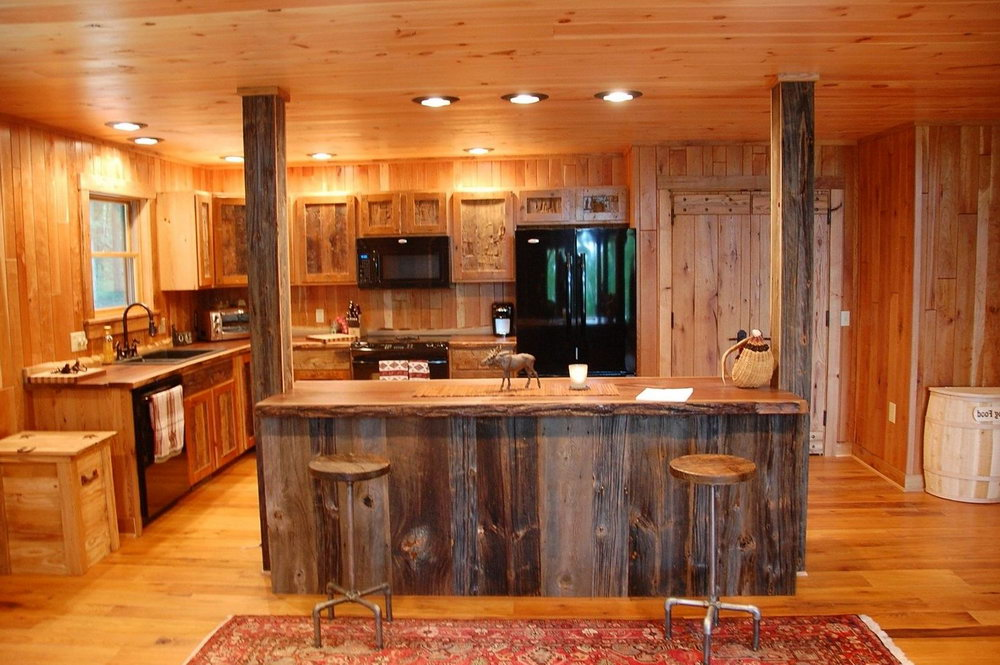 Reclaimed Wood Kitchen Cabinets Uk