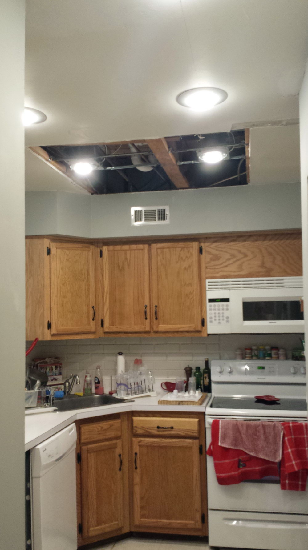 Removing Kitchen Cabinets To Reuse