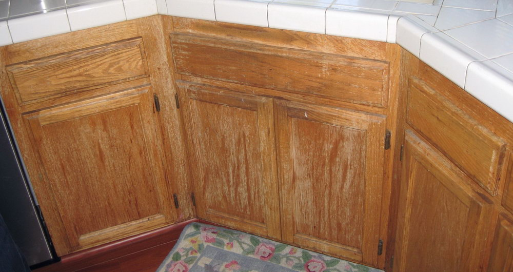 Restore Kitchen Cabinets Without Sanding