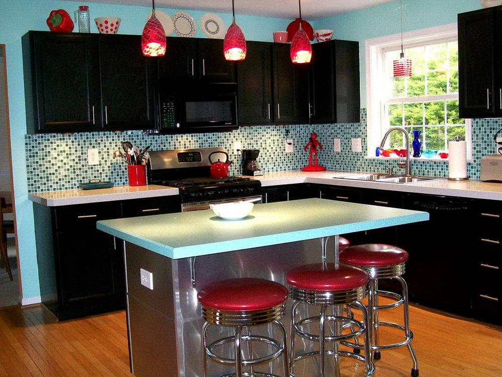 Retro Kitchen Cabinets Colors