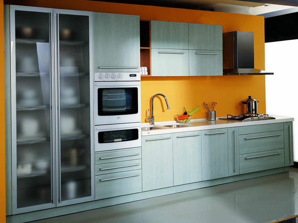 Retro Steel Kitchen Cabinets