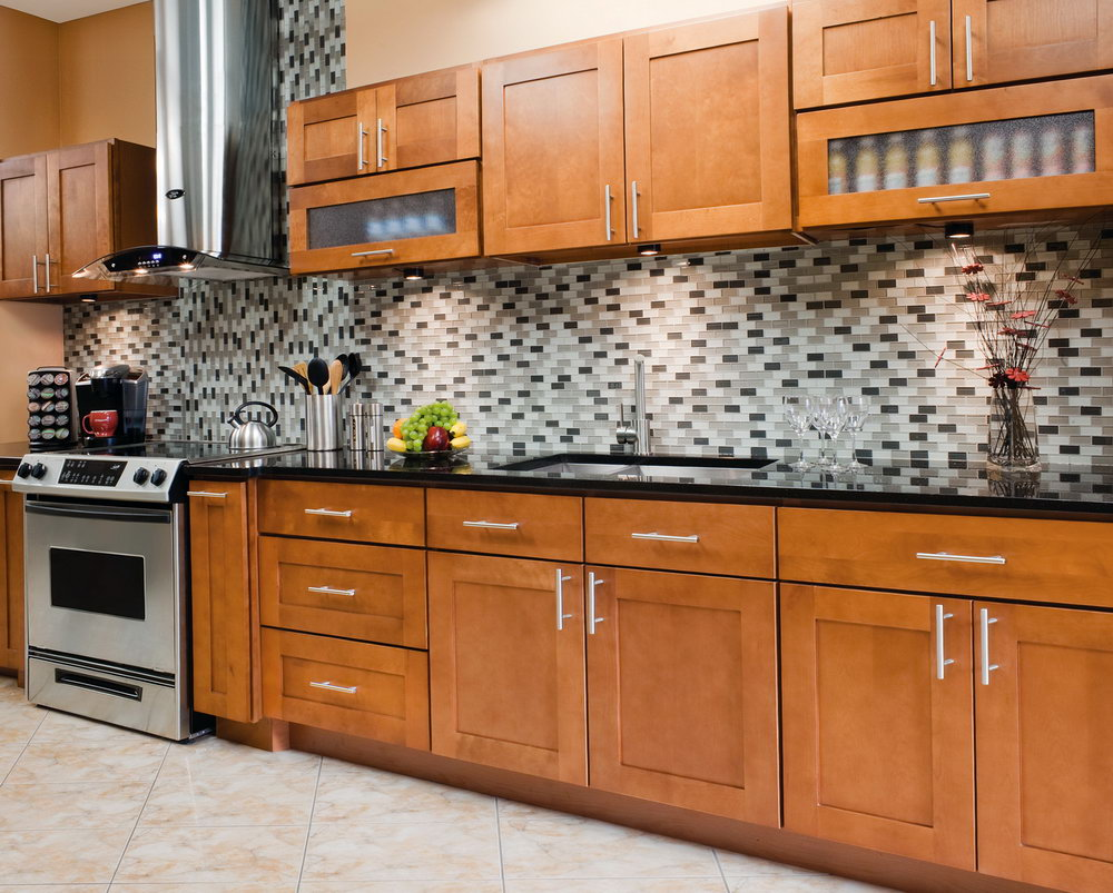 Signature Pearl Kitchen Cabinet Set
