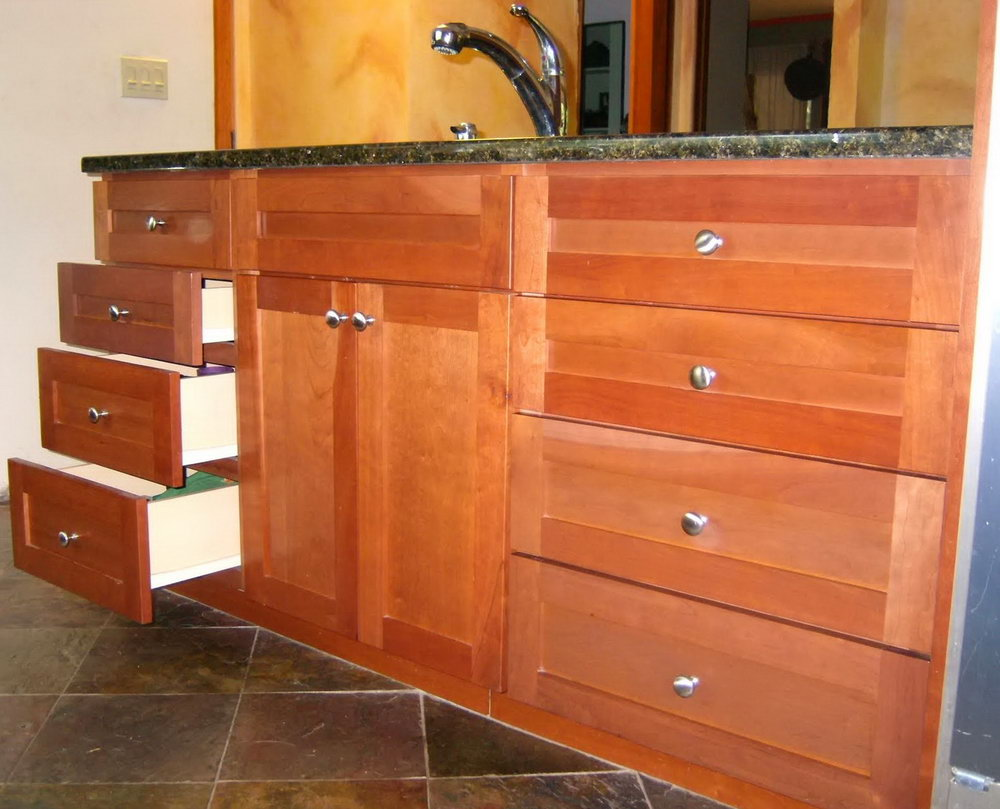 Sliding Drawers Kitchen Cabinets