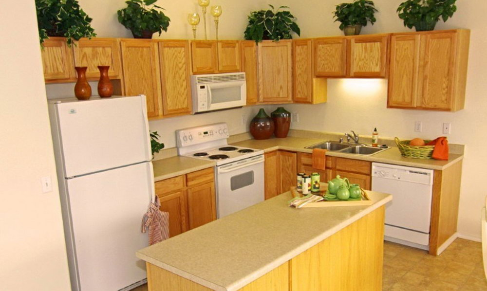 Small Kitchen Cabinet Design L Shape