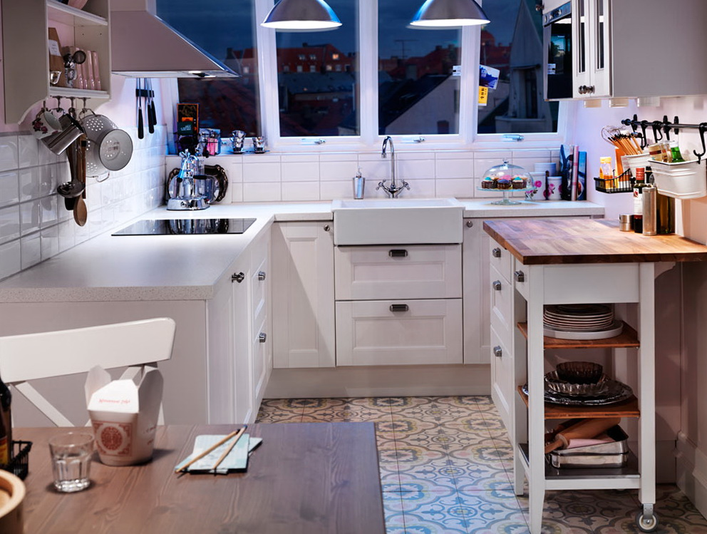 Small Kitchen Cabinet Ideas Ikea