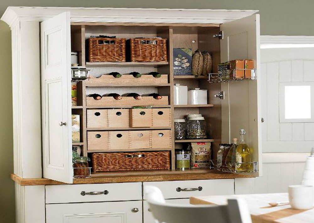 Small Kitchen Pantry Cabinet Ideas