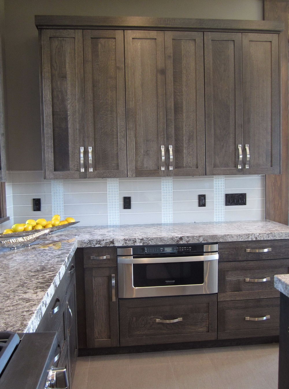 Stained Kitchen Cabinets 2016