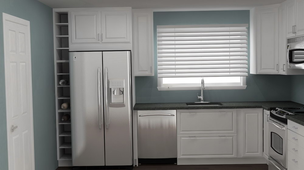 Tall Narrow Kitchen Cabinet