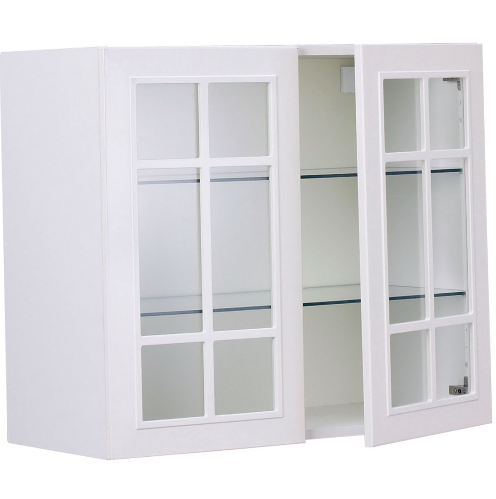 Wall Kitchen Cabinets With Glass Doors
