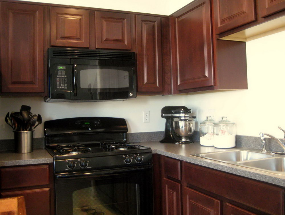 What Color Should I Paint My Kitchen Cabinets With Black Appliances