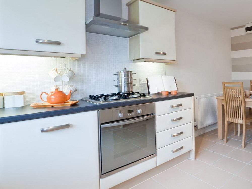 White Cabinet Kitchen Remodels