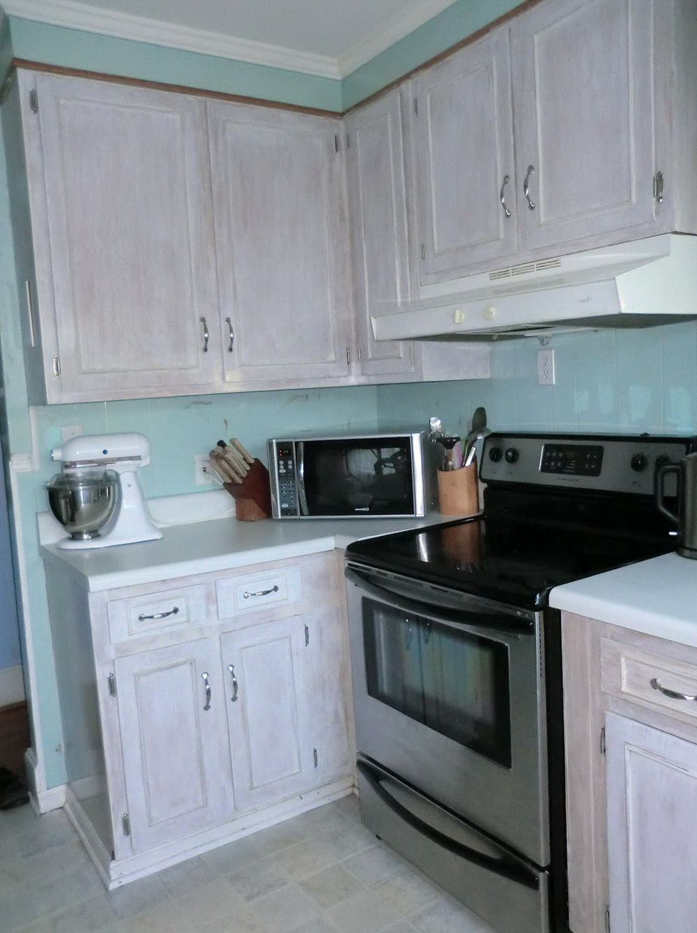 Whitewashed Kitchen Cabinets For Sale