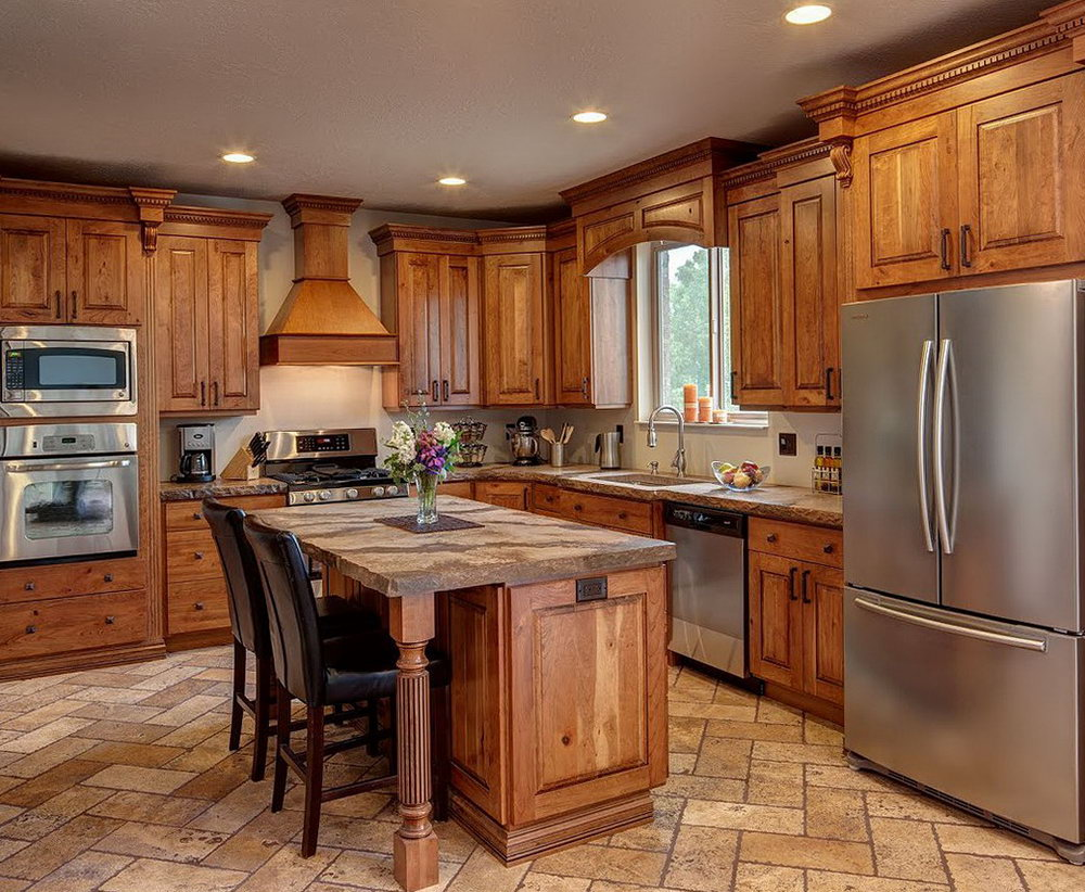 Wood Cabinets Kitchen Pictures