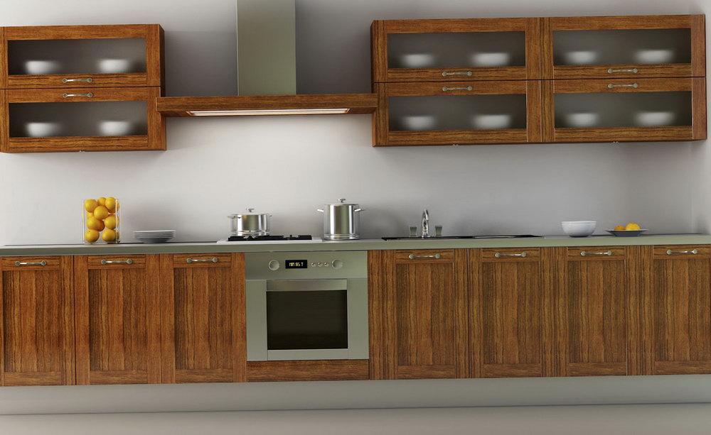 Wooden Kitchen Cabinets Modern