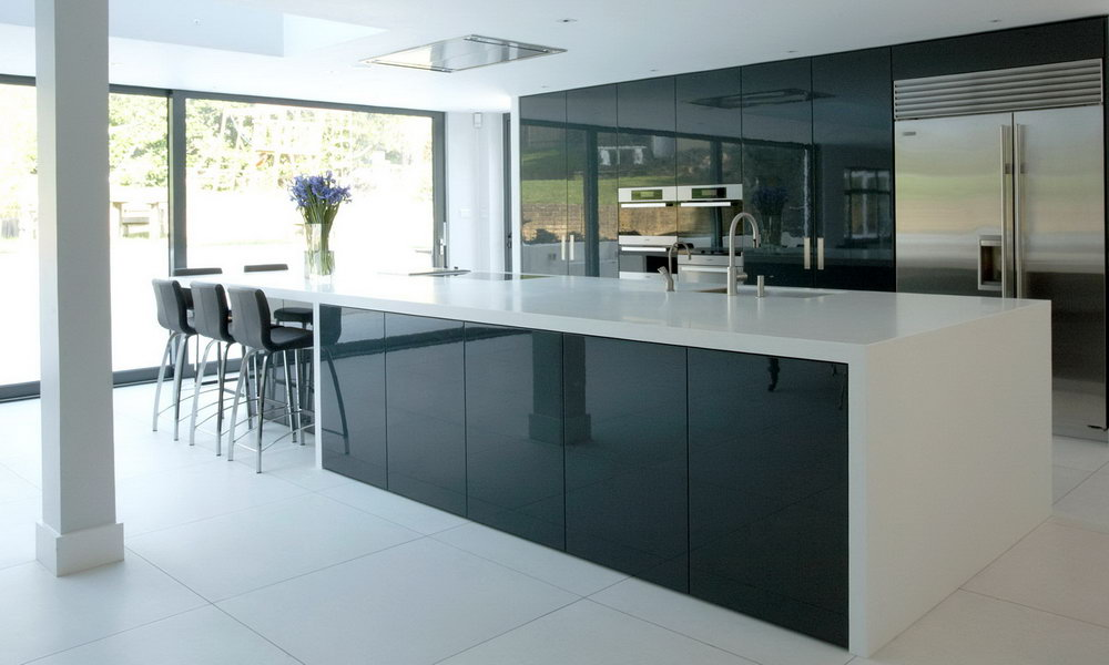 4g Glass Door Kitchen Cabinet