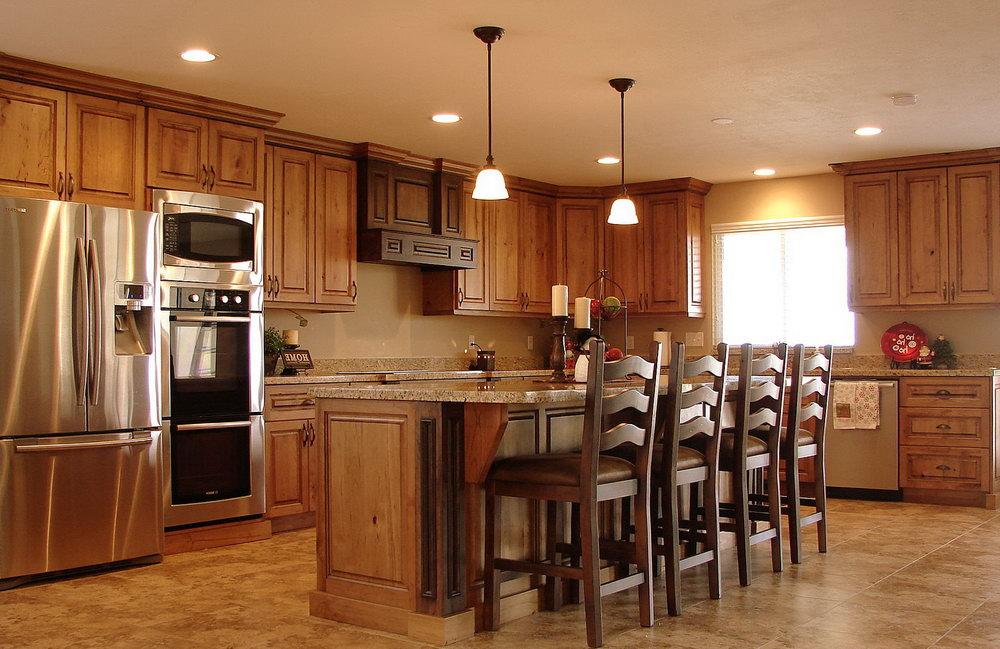 Alder Shaker Kitchen Cabinets