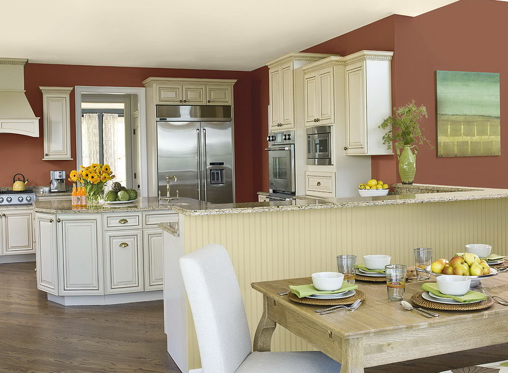 Best Colors For Kitchen Walls With White Cabinets