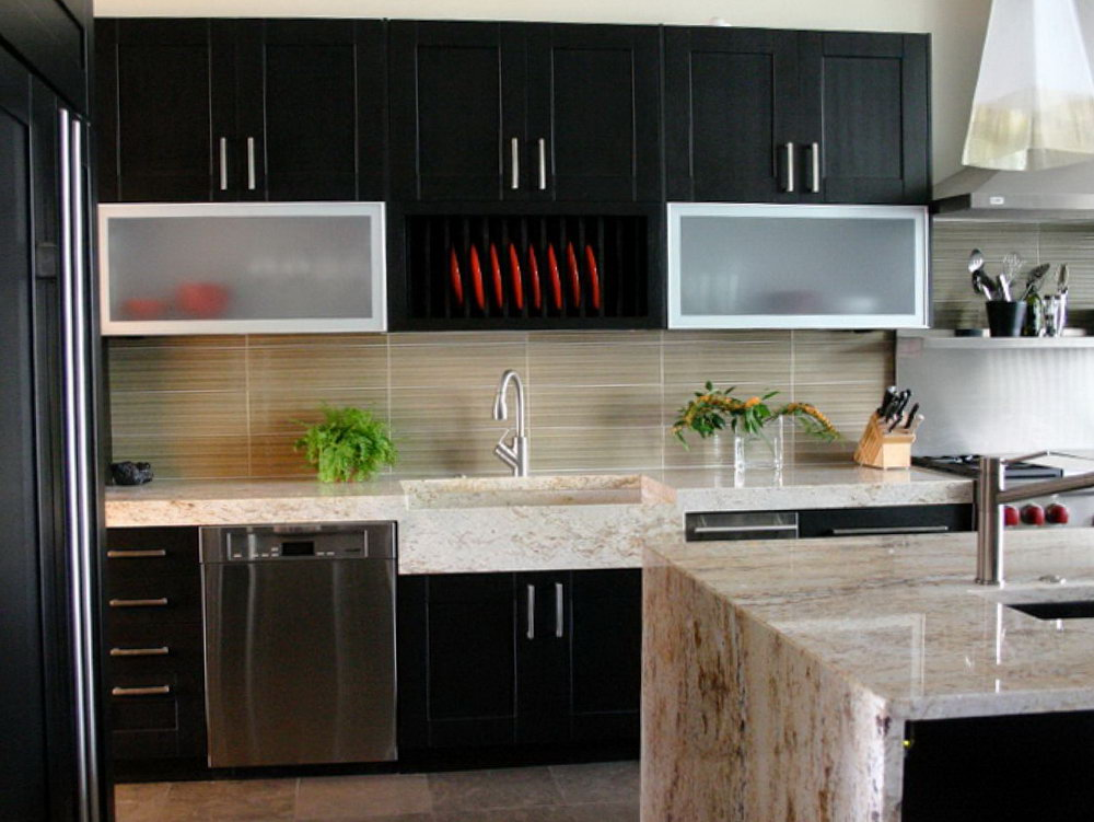 Black Walnut Cabinets Kitchens