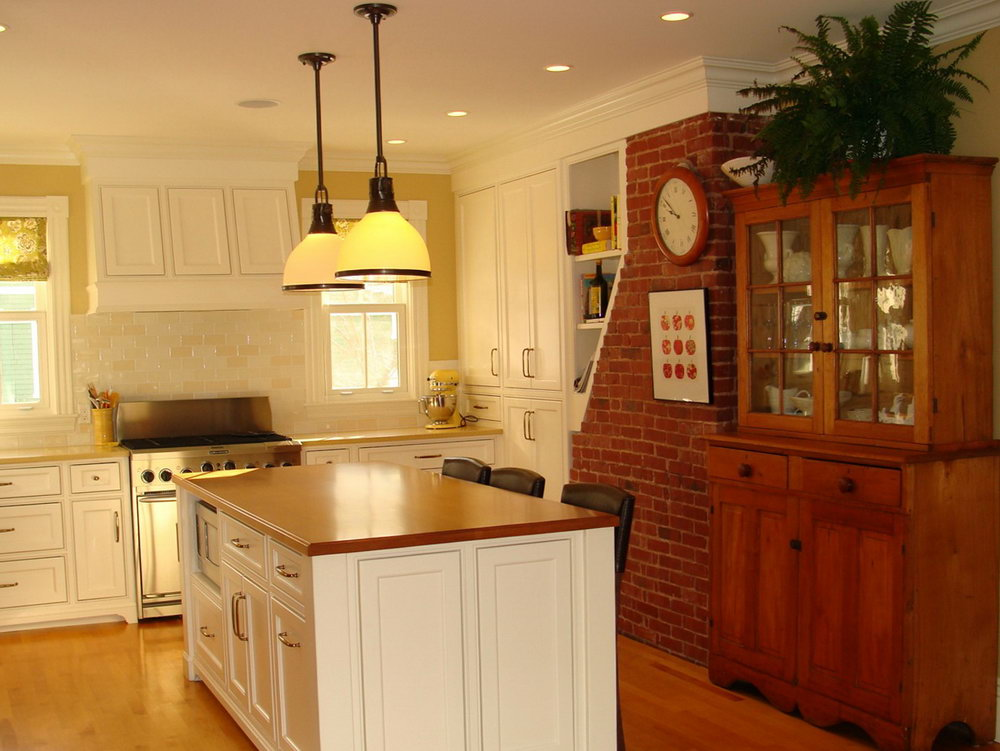 Built In Kitchen Cabinets Design