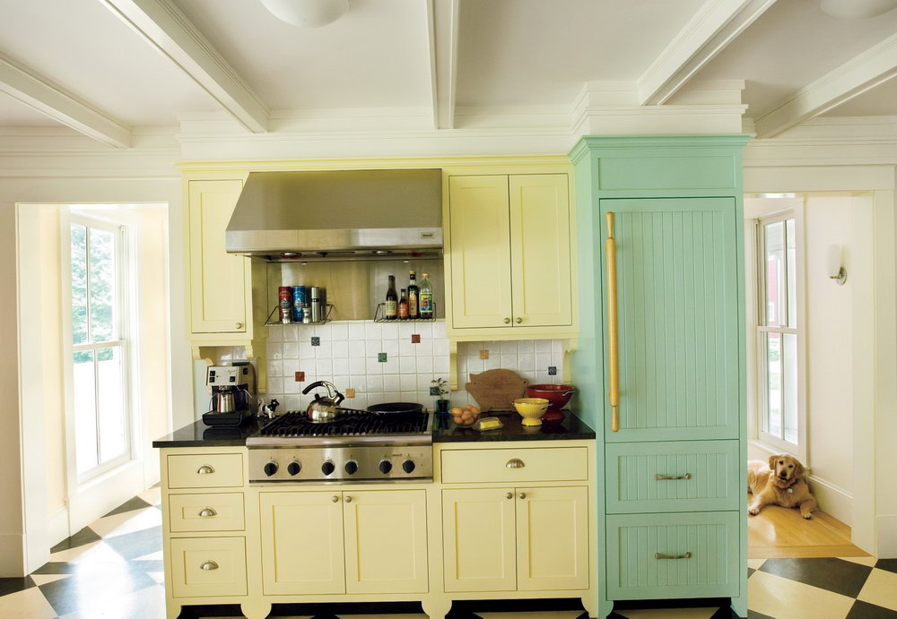 Color For Kitchen Cabinets Pictures