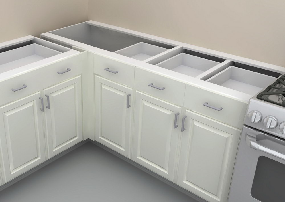 Corner Base Kitchen Cabinet Sizes