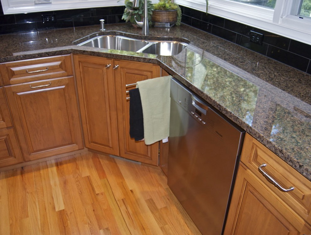 Corner Kitchen Cabinet Dimensions Standard
