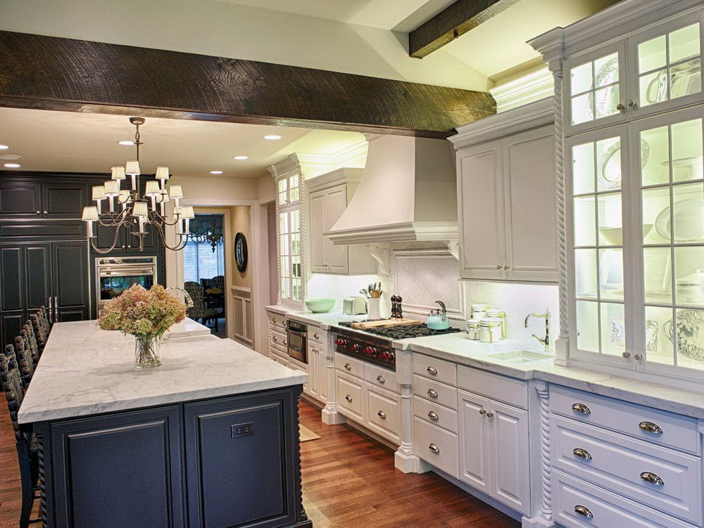 Cottage Style Kitchen Cabinets