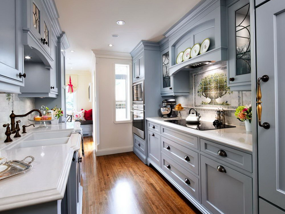 Country Cottage Kitchen Cabinets