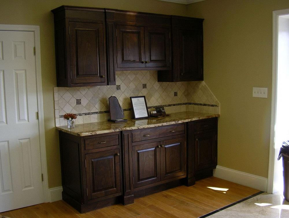 Dark Walnut Cabinets Kitchens